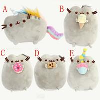 Wholesale Wholesale Cat Stuffed Animals - Pusheen plush toy stuffed animal doll anime toy pusheen cat pusheen skin girl kid kawaii,cute cushion brinquedos Kids