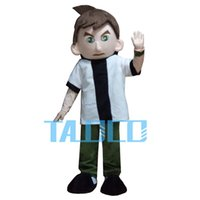 Wholesale Mascot Human - Hot Sale 6 kinds of style human-like Mascot Costume Party Cute party Fancy Dress Adult Children Size Fast Ship