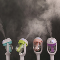 spray 12v venda por atacado-12 V Portátil Auto Mini Purificador De Ar Do Carro Umidificador de Vapor Aroma Aromaterapia Difusor de Óleo Essencial Fabricante Da Névoa Mini Fogger