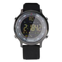bluetooth luminoso al por mayor-Reloj inteligente EX18, reloj deportivo con podómetro, altitud para recordar la mesa luminosa impermeable Bluetooth, teléfono, información, reloj despertador, e