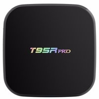 4k tv box octa 2gb großhandel-Echte Android 7.1 S912 TV Box T95R pro 2 gb 16 gb Gigabit Ethernet 5G AC WiFi BT4.0 3D Octa Core 4 Karat TV Boxen