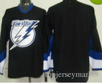 Wholesale Cheap Bolts - Tampa Bay Lightning Custom Stitched mens womens youth Away Home royal black vintage Third ice Hockey cheap kids BOLTS Jerseys size S-4XL