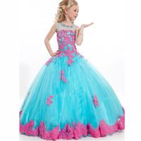 crianças vestido de nascimento venda por atacado-2016 Vestidos Crianças WithLong Vestido Meninas Dança Saia Menina Princesa Vestido Flor Meninas Vestidos de Festa Vestidos Do Bebê Das Meninas Vestido