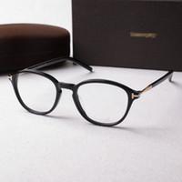 Wholesale Solid Plastic Frame - Hot brand eyeglasses frame tf 5397 famous designers design the men's and women's optical glasses frames