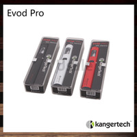 Wholesale kanger evod silver - Kanger Evod Pro Starter Kit All in One Design Top Fill Mouth to Lung Vaping Experience 100% Original