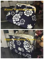 Wholesale Wedding Gifts Bags - (50 pieces lot) Unique Bridesmaid gifts of Chinese Style Coin Purse Wedding Favors for Guests and Candy boxes and Favor bags FREE SHIPPING
