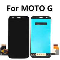 Wholesale mobile lcd touch screen - mobile phone lcd replacement lcd replacement lcd display touch digitizer screen assembly for motorola g xt1032