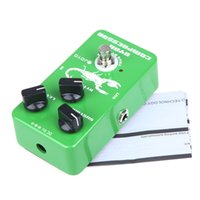 Wholesale joyo pedals free shipping - Free shipping Hot Sale JOYO JF-10 Dynamic Compressor Effect Pedal with True Bypass Ross Compressor