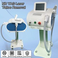 Wholesale Carbon Black Machine - top laser machines q-switched diode laser tattoo removal newest model skin whitening carbon peeling Black Doll Treatment