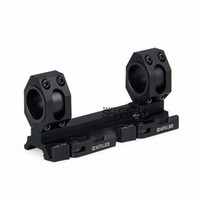 Wholesale Double Ring Rifle Scope Mount - Tactical Double Ring 25mm to 30mm fit Rifle Scopes Mount Weaver Picatinny Scope fits 20mm rail