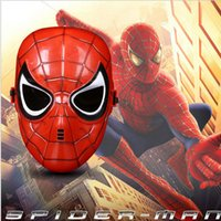 Led Flash Superheld Maske Spiderman Transformers Maske Theater Prop Neuheit oder Kinder Favorite Party Marks