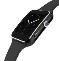 siyah u8 bluetooth akıllı saat toptan satış-Akıllı İzle Android 1.54 inç LED MTK6260A Bilek İzle Akıllı Elektronik Pedometre Kamera Izle Ile Smartwatch