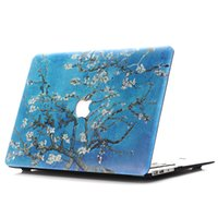 Wholesale Laptop Coloured Covers - Coloured Drawing Or Pattern Printing Hard Matte Case for apple Macbook Air 11 12 13 Pro 13 15 Retina Shell Protective Cover