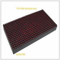 parlak led diyot toptan satış-Ultra parlak açık tam renkli smd led ekran veya modül P10 546 oval led sarı dağınık diyot p10 açık ekran led modülü
