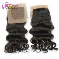 Wholesale chinese hair prices resale online - Price Loose Wave Silk Base Closure Free Part Top Loose Wave Silk Base Closure