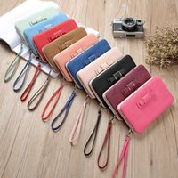 Ladies Long Wallet PU Leather Women Coin Purses Porte-cartes de crédit One Fold Mobile Phone Board Box