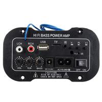 verstärkerplatte diy großhandel-Freeshipping 30 Watt Verstärkerplatine Audio Bluetooth Amplificador USB dac FM radio TF Player Subwoofer DIY Verstärker Für Motorrad Auto hause