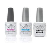 Wholesale Top Gel Nail Polish Colors - Top quality Harmony Gelish nail polish colors Top and Base coat LED UV Gel nail polish gelish Nail art lacquer Soak off