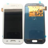 digitalizador ace venda por atacado-Novo display lcd touch screen digitador para samsung galaxy j1 ace 2015 j110 j110f j110m não ajustado ouro preto branco dhl logística