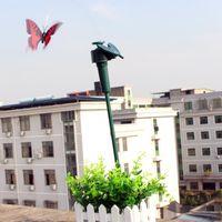 ücretsiz metal kelebekler toptan satış-Ücretsiz kargo güzel karikatür Fabrika doğrudan güneş kelebek yaratıcı diy monte bilim deneyleri uçan kelebekler çocuk oyuncakları