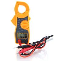 Wholesale Digital Clamp Dc Current - MT87 LED Digital Clamp Meter Multimeter AC DC Voltage Current Tester Volt Ampere Ohm Meter YB322-SZ+