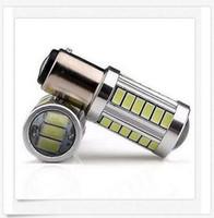 Wholesale 12v Bulb 1142 - 30PCS BAY15D 1157 1142 Car Tail Stop Brake Light 5730 33 SMD LED Bulb 12V DC wholesale price