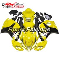 Wholesale Hayabusa Yellow - Fairings For Suzuki GSXR1300 Hayabusa Year 08-15 2008 2009 2010 2011 2012 2013 2014 ABS Motorcycle Fairing Kit Bodywork Cowling Yellow New