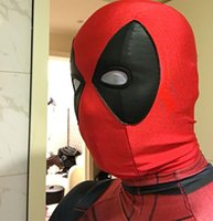 Masque de mascarade de masque de Halloween de masque de masque de Halloween de masque de Deadpool de masque d'Halloween de masque de Spiderman Cosplay de masque de Halloween de carnaval de vente chaude de masque