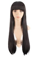 Wholesale straight brazilian wig cap for sale - According To The Italian Yaki x Silk Straight Hair Virgin Peruvian Hair Full Lace Wigs Of Beads And Silk Cap Kabell Wigs