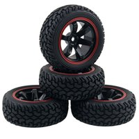 Wholesale Plastic Rims For Cars - RC HSP HPI 701A-8019 Rubber Tire&Plastic Wheel Rim For 1:10 On-Road Rally Car