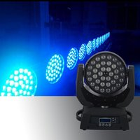 Barato Led Zoom Mover Cabeça 4in1-Atacado- 36x12w Wash Zoom Moving Head Light DMX512 RGBW 4IN1 Led Moving Head Wash Beam Effect Light Disco Party Concert Show Stage Light