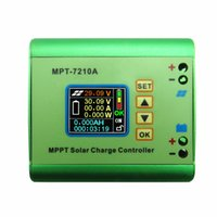 Wholesale solar controller mppt 48v - MPT-7210A 10A DC12-60V MPPT Solar Panel Charge Controller Solar Panel Accommodate DC-DC Power Max600W 24V 36V 48V 72V battery