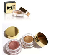 Wholesale Eye Cream Glitter - Kylie Jenner Kit birthday Edition eyeshadow cream Cosmetics eye shadow Kyshadow eyebrow brand naked makeup Long-lasting copper rose gold