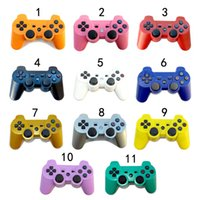 Wholesale Playstation Controller For Pc - DHL 2016 New 2.4GHz Wireless Bluetooth Game Controller For sony playstation 3 PS3 SIXAXIS Controle Tablet PC Joystick Gamepad