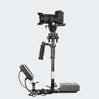 estabilizador de câmara video camcorder steadicam venda por atacado-O Envio gratuito de Alta Qualidade Da Liga De Alumínio e Fibra De Carbono Handheld Steadicam Estabilizador 0-15 kg para Camcorder Camera Video DV DSLR