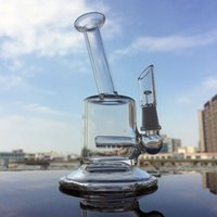 Wholesale Mini Tyres - Mini rig Cheap Big Tyre Perc Glass Bong Water Pipe 5.5 inch with 10mm joint dry bowl free shipping