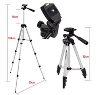 Wholesale Digital Camera Tripod Head - New DIGITAL Camera tripod Head stand WT-3110A Lightweight Tripod For Sony Nikon Canon Extendable Tripods With Carry bag