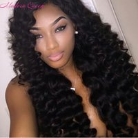 Wholesale Queens Hair Products Deep Wave - Best Quality Brazilian Deep Curly Hair Wefts Modern Queen Hair Products Brazilian Deep Wave 3 Bundles Brazilian Weave Bundles Human Hair