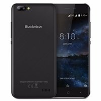 Wholesale Dual Band 3g - Blackview A7 5.0 Inch 3G Quad Core Smartphone MTK6580 1.3GHz 1GB + 8GB 2800mAh 2SIM Dual-Bands Android 7.0 Mobile Phone