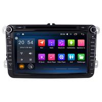 Wholesale Dvd Amarok - 8'' Quad Core Android 6.0.1 Car DVD Player For VW Caddy Tiguan Touran Magotan Superb EOS Bora Amarok With GPS Map