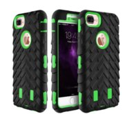 Wholesale iphone 5s case skin for sale – best Tire Robot Hybrid Heavy Duty Rugged Shockproof Hard PC Soft TPU Case Skin Cover for iphone S iphone G plus