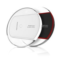 Hot Sale Luxury Qi Wireless Charger Charging Pad Mini para Samsung S6 S6 Edge iPhone 6 6 PLUS HTC Nokia etc US02 Z-SC