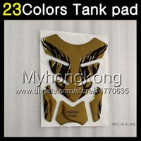 Wholesale 95 Suzuki - 23Colors 3D Carbon Fiber Gas Tank Pad Protector For SUZUKI RGV250 VJ22 RGV 250 90 91 92 93 94 95 1990 1991 1992 93 1995 3D Tank Cap Sticker