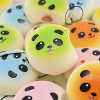 Wholesale pieces Squishy Bread Chocolate Sprinkles Popsicle Phone Straps Soft Scented Charms