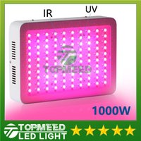 Wholesale Hydroponic Mini - Super Discount DHL High Cost-effective 1000W LED Grow Light with 9-band Full Spectrum for Hydroponic Systems mini led lamp lighting
