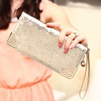 Wholesale high quality wallets card holders fashion style bling bling purses women wallet purse