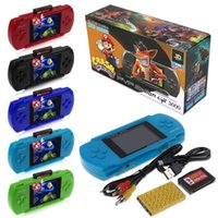 Wholesale Handheld Lcd Tv - Nostalgic Classics Game Consoles PXP3 (8 Bit) 2.5 Inch LCD Screen Handheld Video Game Player The Best Gift for Children