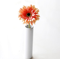 "Wholesale Gerbera Daisies Silk Flowers - 20pcs MOQ Silk Sunflower Bridal Bouquet 4"" head Gerbera Daisy Artificial Flower Wedding Home Decor Festive Party Supplies Decorative Flowers"