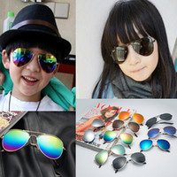 Wholesale baby gifts for girls - Cheap Kids Sunglass Children Beach Supplies Sunglasses Boutique Childrens Fashion Accessories Sunscreen baby for boys Girls gift Glasses