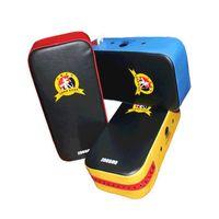 Wholesale Kick Boxing Bags - Boxing Pad Pu Leather Top Quality Thai Kick Boxing Gloves Target Taekwondo Sanda Training Punching Bag Free Shipping